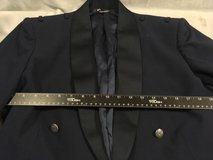 usaf air force officers mess dress blue 44 short uniform 6 button coat jacket  02600 in Fort Carson, Colorado