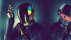 daft punk electronic robot light up helmet glossy 8 x 10 photo hd cinescope  02613 in Fort Carson, Colorado