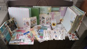 Scrapbooking paper, stickers and more .25¢ - $3.00 in St. Charles, Illinois