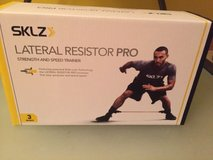 sklz chrome lateral resistor pro adjustable lateral strength and position trainer in Yorkville, Illinois
