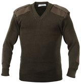 usmc marine corps dscp green service 38 sweater w/ epaulettes woolly pully  02627 in Fort Carson, Colorado