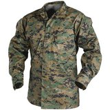 usmc marine corps woodland pattern marpat small xlong button front blouse jacket  02625 in Fort Carson, Colorado
