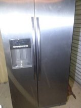 Whirlpool Side by side Refrigerator 26 cf in Fort Rucker, Alabama