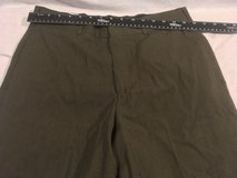 usmc marine corps green shade 2212 dress alpha 32 short uniform trousers pants  02621 in Fort Carson, Colorado