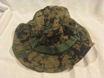 usmc marine corps woodland digital marpat field boonie large cover hat cap  02618 in Fort Carson, Colorado