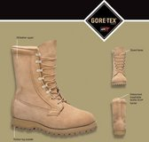 nwt belleville 255 gore-tex icwt cold/wet weather 7r regular tan boots  31290 in Fort Carson, Colorado
