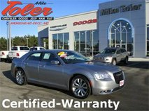 2017 Chrysler 300 C Base-Certified-Warranty-Price Reduced!(Stk#p2215) in Cherry Point, North Carolina
