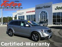 2017 Dodge Journey Crossroad-Certified-Warranty(Stk#p2213) in Cherry Point, North Carolina