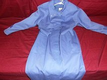 j.gallery  womens blue long lined rain coat size 11/12 ~ nm 13314 in Fort Carson, Colorado