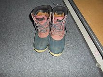 vintage dunham navy / red duck ankle boots womens size 7 ~ nm 13317 in Fort Carson, Colorado