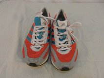 adult womens adidas mi orange 3 blue stripes running cross country shoes 31635 in Fort Carson, Colorado
