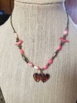 Cute Necklace with pink accents and a heart pendant in Camp Pendleton, California