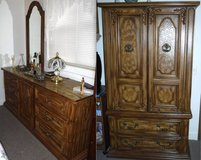 Dresser w/Mirror -OR- Armoire Cabinet in Westmont, Illinois