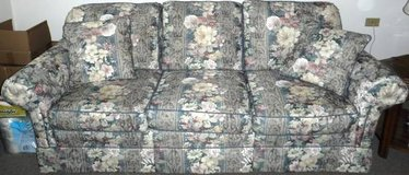 Berne Furniture custom built Couch - Floral Print in Westmont, Illinois