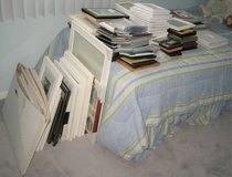 Large Picture Photo Frame Lot + Matting - Variety of Sizes MOSTLY NEW in Naperville, Illinois