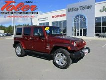 2010 Jeep Wrangler Unlimited Sahara-One Owner(14222a) in Cherry Point, North Carolina
