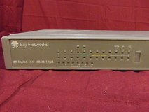 bay networks baystack 151 10base-t 24 port ethernet hub ~ nm 13848 in Huntington Beach, California