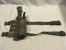 us army military universal acu pattern adjustable molle system drop leg holster  02418 in Fort Carson, Colorado