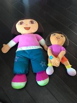 2 Dora plush in Fort Campbell, Kentucky