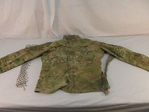 adult unisex us army multicam ghillie suit top blouse full zipper mesh 30707 in Fort Carson, Colorado