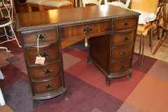 Beautiful  Antique Desk with Scallop Trim in The Woodlands, Texas