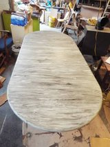 Table*Large*6/8ft*Distressed*Large Legs*Heavy Duty in Fort Leonard Wood, Missouri