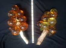 two bunches of vintage lucite glass grape clusters in The Woodlands, Texas