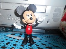 "2011 Disney MICKEY MOUSE Plastic Figurine- 5 1/2""  Tall!  CUTE in Spring, Texas"