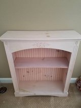 Gorgeous Bookcase or Display Piece, Natural Painted Wood in Tinley Park, Illinois
