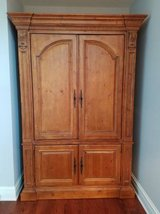 Stunning Ethan Allen Real Wood Armoire! in Tinley Park, Illinois