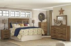 RUSTIC ASHLEY BEDROOM SET in Honolulu, Hawaii