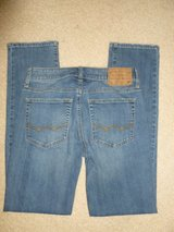 mens american eagle outfitters 360 extreme flex light wash slim straight jeans in Fort Belvoir, Virginia