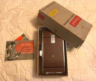 vintage polaroid instant land camera model 95, orignal box, paperwork in Kingwood, Texas