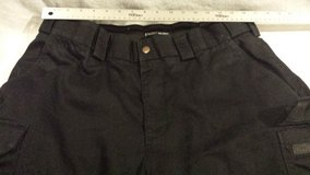 mens 5.11 tactical series poly black 38x31 cargo military police style trousers  02634 in Huntington Beach, California
