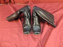 womens jasmin black boots with zipper size 7m wc 12217 in Fort Carson, Colorado