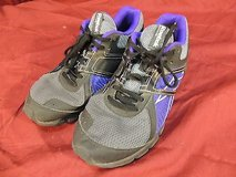 womens reebok running shoes non marking outsole blk/purp/gry size 8.5 wc 12301 in Fort Carson, Colorado