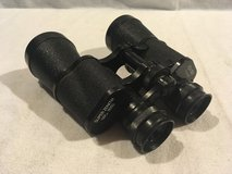 defective vintage super zenith light weight triple adjustable 10x50 binoculars in Huntington Beach, California