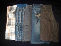 Boys size 14 Plaid Cargo Jeans Shorts Lot in Silverdale, Washington