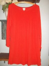 NWT Womens Sz Large Hot Orange Stretch Tunic! Used As A Mini Dress Too in Silverdale, Washington