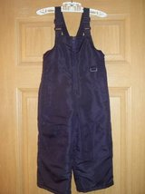 Baby girls size 18M Plum Color Snow Overalls in Fort Lewis, Washington