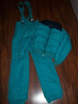 VINTAGE ROFFE WOMEN'S SIZE 12 SNOW SKI MATCHING SET BIBS AND JACKET in Silverdale, Washington
