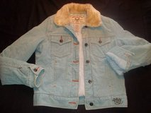 "Women's ROXY Vintage ""Aged with Love"" Light Blue Jacket size S/P in Silverdale, Washington"