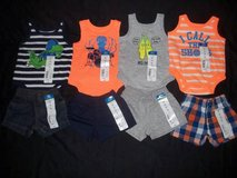 NWT Baby Boys NEWBORN Tank Tops Bodysuits Shorts Clothes Outfits Lot in Fort Lewis, Washington