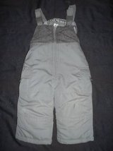 Carter's Gray size 12 Months Snowbibs in Tacoma, Washington