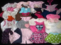 Baby Girls 3-6M 6-9M Fall Winter Clothes Outfit Lot in Tacoma, Washington