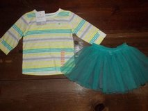 Girls size 2T cute outfit... NWT shirt and tutu skirt in Tacoma, Washington