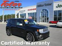 2015 Jeep Renegade-Certified-Warranty(Stk#14704a) in Cherry Point, North Carolina