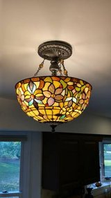 Stained Glass Tiffany Style Light Fixture(s) in Lockport, Illinois