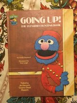 RARE Vintage 1980 Sesame Street Going Up The Elevator Counting Book Hard Cover in Joliet, Illinois