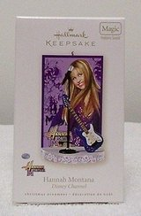 NEW Hallmark Hannah Montana Miley Cyrus Musical Guitar Replica in Morris, Illinois